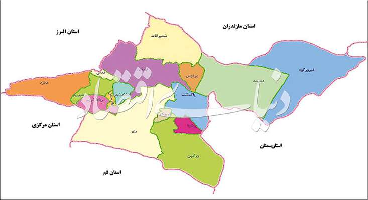«۱+۵» آفت تجزیه تهران