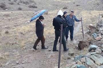 رفع تصرف ۵۷۷۵ متر مربع از اراضی دولتی