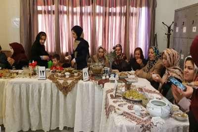 جشنواره دیماج و آش رشته در قزوین برگزار شد