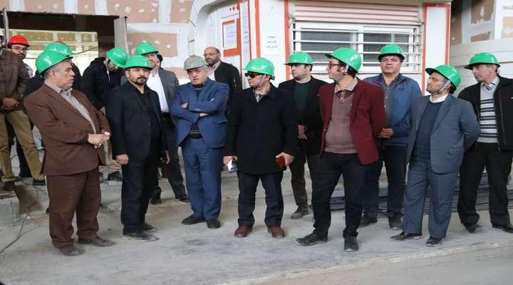 شهردار و اعضای شورای شهر تبریز از پروژه های عمرانی شهرداری اصفهان بازدید کردند