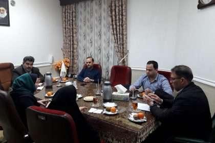 جلسه کمیسیون فرهنگی شورای شهر با سرپرست ارشاد و کانون پرورش فکری شماره ۱ دامغان