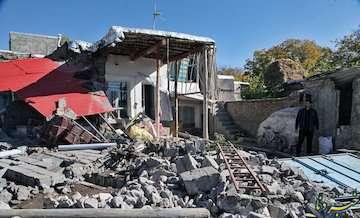 ۵شهر و ۴۳۳ آبادی متاثر از زلزله/ ثبت ۶ پسلرزه