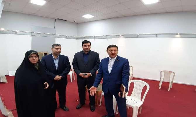 بازدید مشترک رییس کمیسیون فرهنگی و شهردار رشت از ساختمان فرهنگی ورزشی شهرداری
