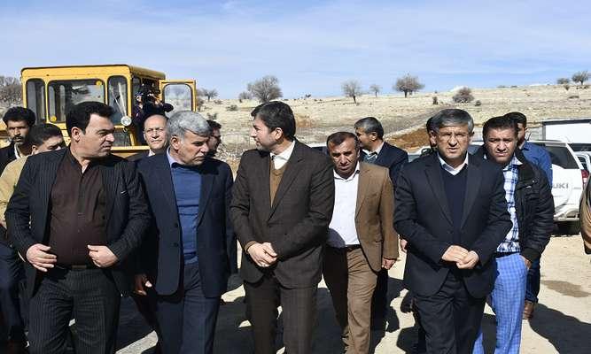 بازدید معاون وزیر کشور از پروژههای بزرگ عمرانی شهرداری یاسوج /تصاویر