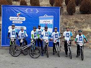 برگزاری مسابقه دوچرخه سواری به مناسبت پویش هر هفته الف- ب-...