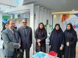 حضور مدیر عامل  شرکت برق منطقه ای زنجان در جشنواره دستاوردهای پژوهشی فناوری و دارایی های فکری بانوان