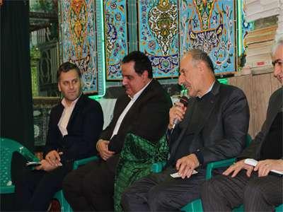 دیدار اعضای شورای شهرو مدیر منطقه یک شهرداری با ساکنان این منطقه در مسجد حضرت علی اکبر (ع)
