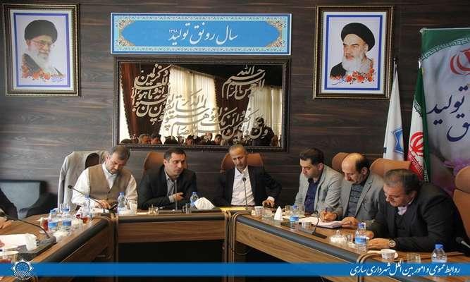 سومين جلسه سياستگذاري كلان بودجه سال 99 شهرداري ساري برگزار شد