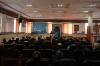 نشست بصیرتی و روشنگری چهل سالگی بسیج در شرکت برق منطقه ای زنجان