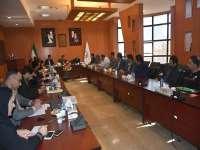 نشست سهیل تاجیک مدیر اداری با مسوولان شناسنامه فنی و ملکی دفاتر نمایندگی سازمان