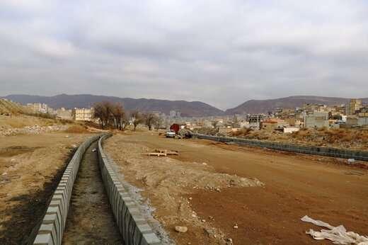 بزرگترین پروژه مسیرگشایی تبریز در بزرگراه دو کمال اجرا می شود