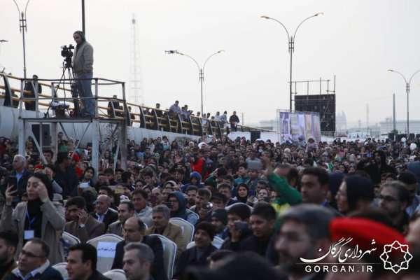 تقاطع غیرهمسطح سربازان گمنام امام زمان (عج) شهر گرگان افتتاح شد