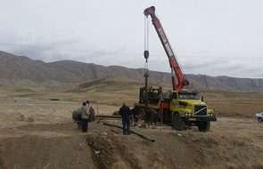 پروژه آبرسانی روستای علی آباد قوچان بزودی به بهره برداری می رسد