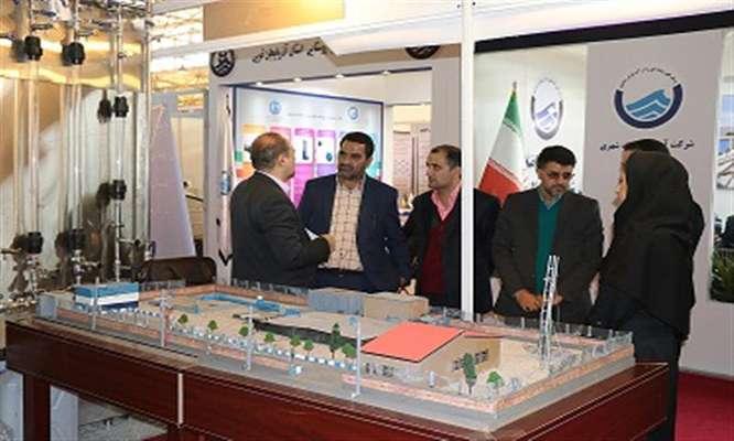 حضور  شركت آب وفاضلاب شهری استان سمنان   در جشنواره صنعت آب و برق كشور