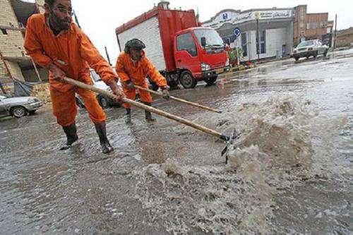 استقرار ۶۷ دستگاه تانکر و پمپ جمع آوری آب در سطح شهر