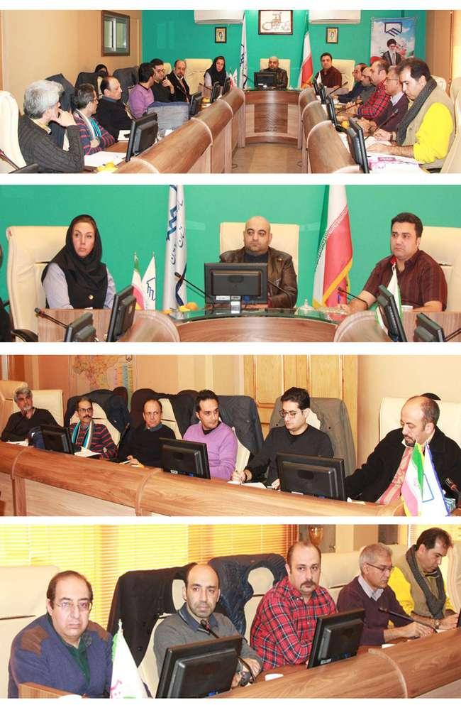 جلسه مشترک گروه تخصصی معماری سازمان و هیات مدیره انجمن صنفی مهندسان معمار استان اصفهان