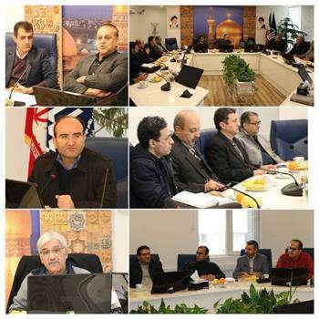 برگزاری جلسه گروه تخصصی ترافیک شورای مرکزی در مشهد