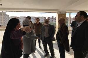 بازدید مدیرکل راه و شهرسازی خراسان شمالی از مجتمع هزار واحدی گلستان شهر بجنورد