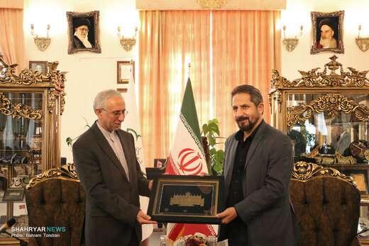دیدار سفیر ایران در ارمنستان با شهردار تبریز
