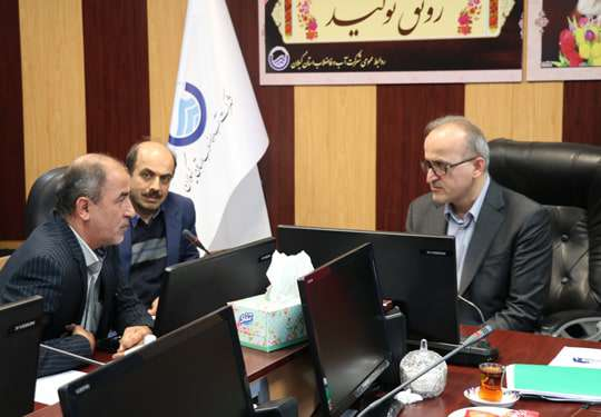 ملاقات عمومی مدیر عامل ابفای گیلان  روز سه شنبه مورخ 26آذر1398