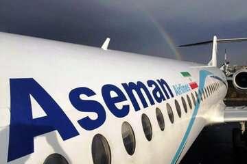 فرود اضطراری هواپیمای حامل وزیر اقتصاد در شیراز