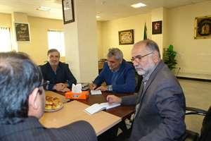 دکتر قوامی نماینده مردم اسفراین در مجلس شورای اسلامی با مدیرکل راه و شهرسازی خراسان شمالی دیدار کرد