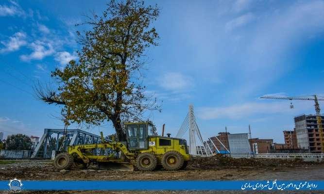 از عملیات اجرایی پروژه پل تا پل تا آسفالت و پیاده رو سازی معابر شهری