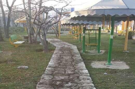 تداوم اجرای عملیات پیاده روسازی در بوستان بانوان شمس