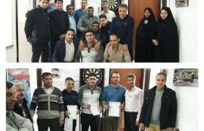 برگزاری مسابقه دارت در بین کارکنان آبفار کلات