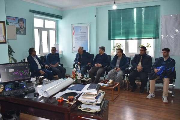 تقدير وتشكر رئيس شورا و شهردار شهرستان سردشت از مدير امور آب و فاضلاب سردشت