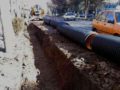 عملیات لولهگذاری پروژه مسیر دوچرخهسواری سه راه عدل تا چهارراه محمدرسولالله (ص) 70درصد پیشرفت دارد