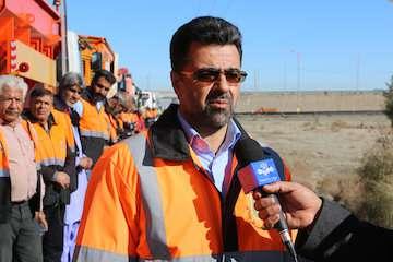 آغاز طرح راهداری زمستانی در محورهای مواصلاتی سیستان و بلوچستان