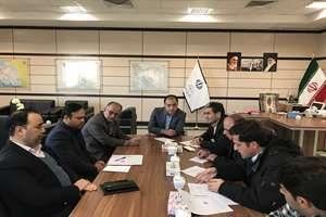 گزارش تصویری جلسه تعیین تکلیف زمین های واگذار شده به کارگران پتروشیمی با حضور مهندس رجب زاده ،معاون ...