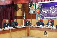بیست و سومین جلسه کمیسیون تلفیق شورای شهر اهواز متشکل از کمیسیون ها  برگزار شد