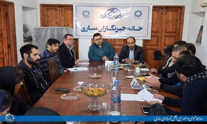 حمایت شهرداری ساری از طرح های عکاسان خبری