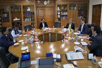 دیدار قائم مقام وزیر کشتیرانی هند با مدیرعامل سازمان بنادر و دریانوردی/ عزم جدی شرکت هندی IPGL برای تسریع در روند سرمایه گذاری در بندر چابهار