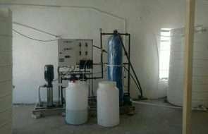 بهره برداری از دستگاه آب شیرین کن روستای یکه باغ  شهرستان درگز