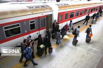 سوت قطار توسعه ریلی استان کرمان به صدا در آمد