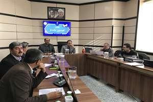 گزارش تصویری جلسه کمیسیون ماده 5 شهر شیروان با حضور معاون عمرانی استاندار، مدیر کل راه و شهرسازی است...
