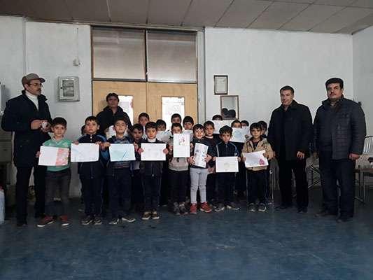 برگزاری مسابقه نقاشی در مدارس شهرستان ماکو
