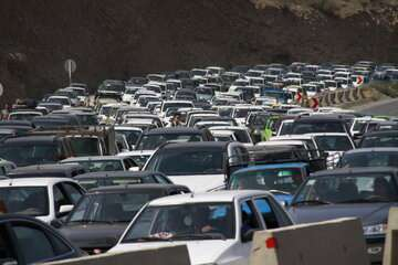 ترافیک در مسیرهای شمالی استان تهران سنگین است