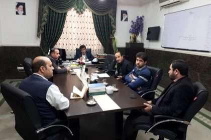 جلسه بررسی ضرورت مستندسازی املاک و اراضی دولتی و غیر دولتی