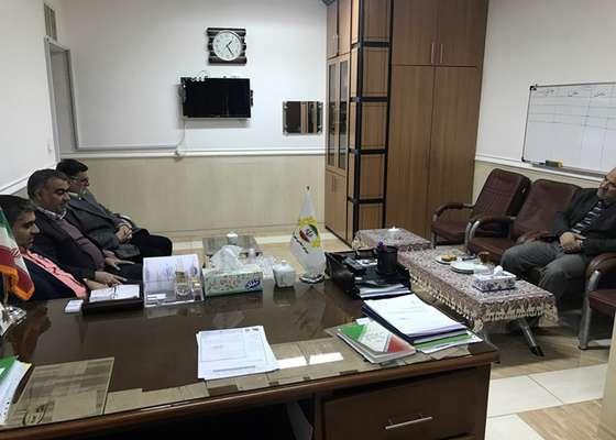 دیدار برخی از اعضای هیئت مدیره موسسه خیریه ۱۴ معصوم(ع) با رئیس شورای شهر