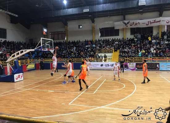پیروزی بسکتبال شهرداری گرگان برابر شهرداری بندرعباس