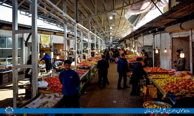 بازار روز ساری