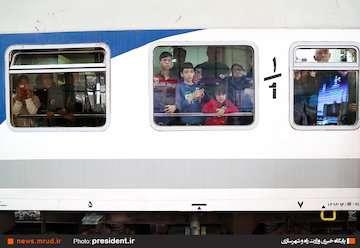 قطار ارومیه-مشهد راهاندازی شد