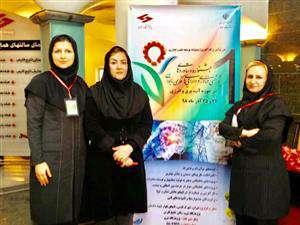 درخشش بانوان برق منطقه ای خوزستان در اولین جشنواره دارایی های فکری بانوان وزارت نیرو