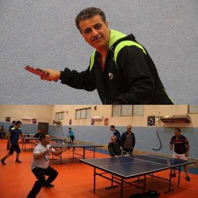 مسابقه تنیس روی میز کارکنان شهرداری لاهیجان به مناسبت روز بصیرت