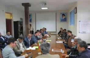 برگزاری جلسه هم اندیشی در خصوص مسائل حوزه آب شرب روستایی گناباد