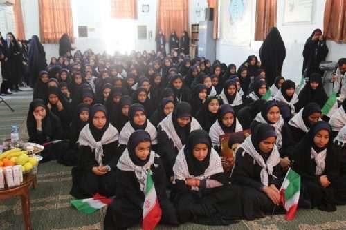 حضور شهردار و اعضای شورای اسلامی شهر در مراسم صبحگ...